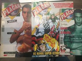 Revistas Placar - Nº 1112, 1107 E 1102