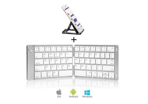 Teclado Bluetooth Mini Silver