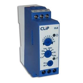 Relé Temporizador Clip 24...220 Vca / Vcc