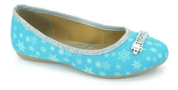 Sapatilha Frozen Ice Azul - 21461