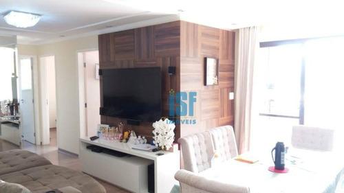 Imagem 1 de 18 de Apartamento Com 3 Dormitórios À Venda, 78 M², 2 Vagas De Garagem, Por R$ 510.000, Próximo Ao Parque Chico Mendes - City Bussocaba - Osasco/sp - Ap2524 - Ap25245