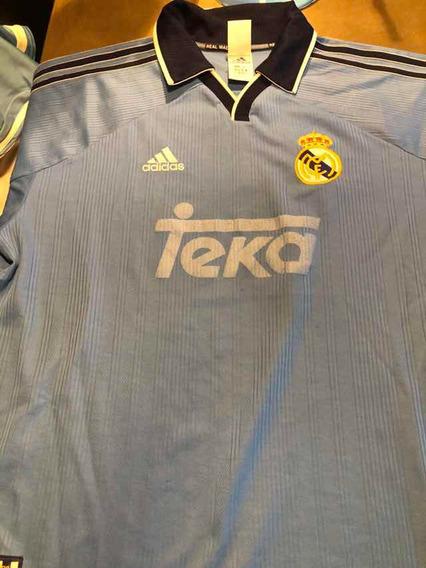 Camiseta Real Madrid Suplente Celeste Alternativa