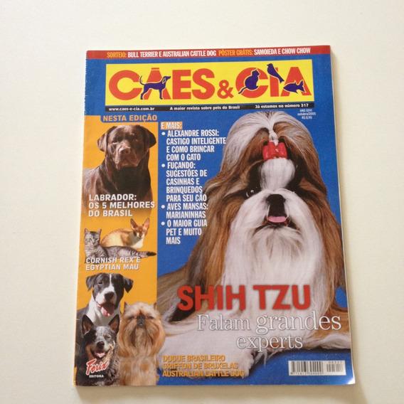 Revista Cães E Cia Shih Tzu Falam Grandes Experts D553