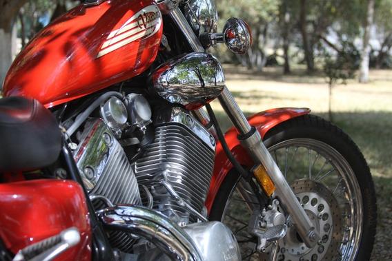 Preciosa Yamaha Virago 535cc Nueva De Colección Xv Vlx 7kmll