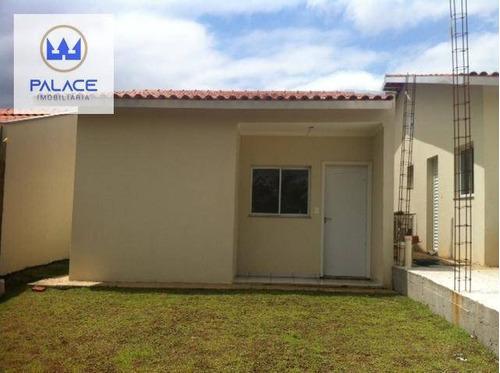 Imagem 1 de 4 de Casa Com 2 Dormitórios À Venda, 51 M² Por R$ 195.000,00 - Altos Do São Francisco - Piracicaba/sp - Ca0635