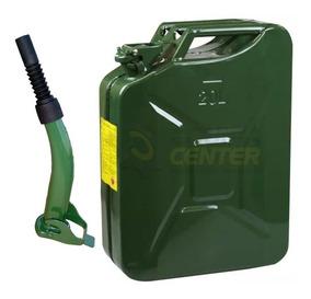 Galão Para Combustível 20 Litros Com Bico De Abastecimento