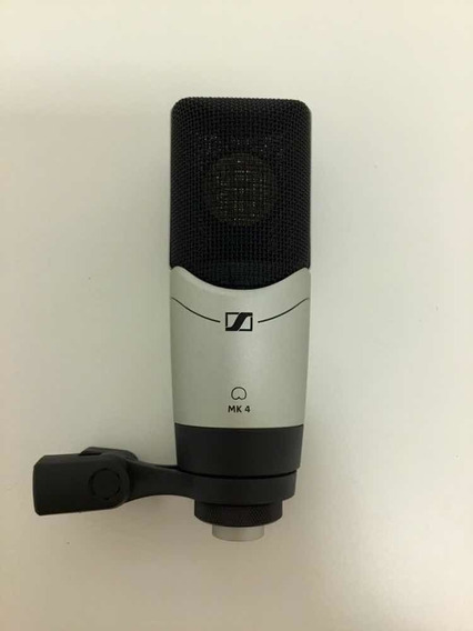 Microfone Sennheiser Mk4 Original + Brindes