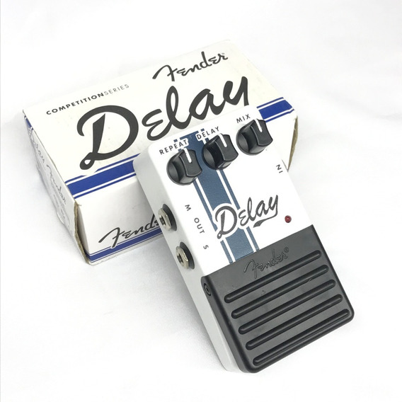Pedal Fender Delay Competition Series Na Caixa - Fotos Reais
