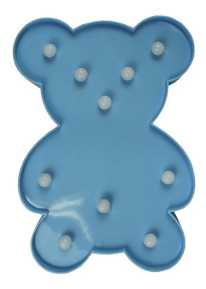 Luminária Urso Shine Azul