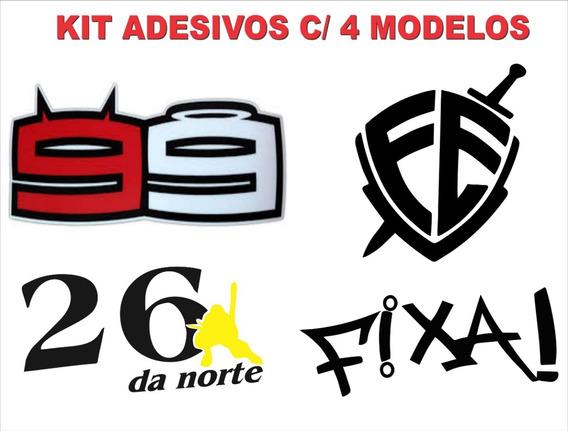 Adesivos Super Promoção Kit ( Fé-99-fixa-26 Da Norte )
