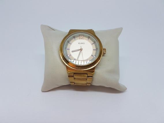 Relógio Euro Feminino Eu2535sn - Usado Em Perfeito Estado