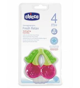 Mordedor E Massageador De Gengiva P/ Bebê Chicco Fresh Relax
