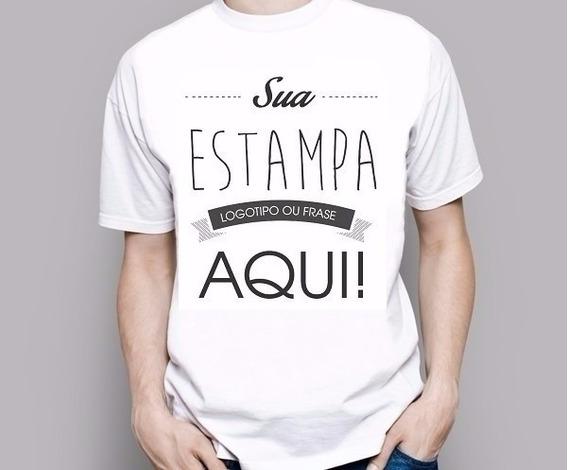 100 Camisetas Personalizadas - Frete Grátis