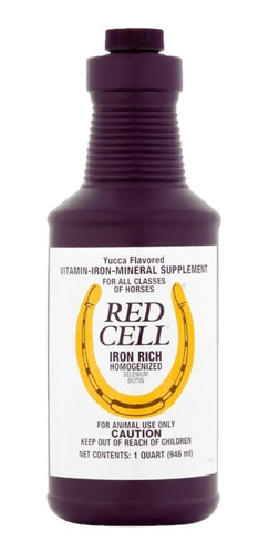 Red Cell 946 Ml 1 Qt Caballo