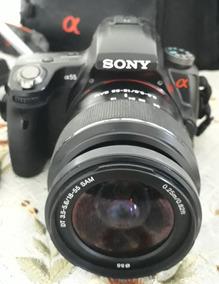 Câmera Filmadora Sony Alpha 55 6.1 Megapixel