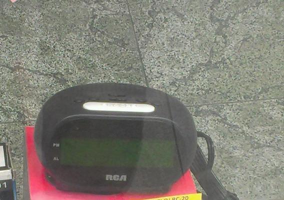 Radio Am/fm, Reloj Despertador Con Cable Enchufar