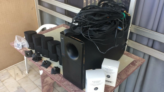 Bose Acoustimass 15 Completo Sub Ativo 100 W,cabos,5 Cubos
