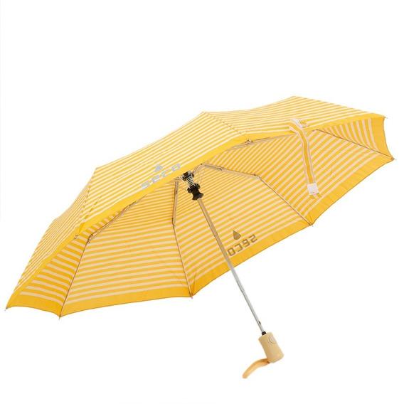 Paraguas London Rayas Amarillo