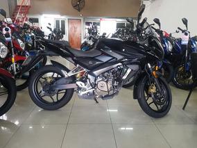Bajaj Rouser As 200 2017 Negra Permuto Financio Qr Motors