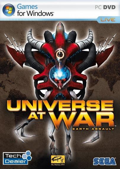 Pc Universe At War Earth Assault - Novo - Original