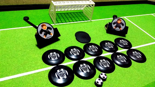 Imagem 1 de 6 de 3 Times Fut. Botão Cruzeiro Atletico America  Comb. Retirada