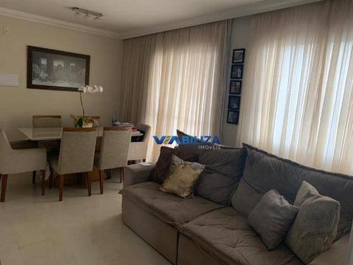 Apartamento Com 3 Dormitórios À Venda, 68 M² Por R$ 387.000,00 - Vila Das Bandeiras - Guarulhos/sp - Ap3811