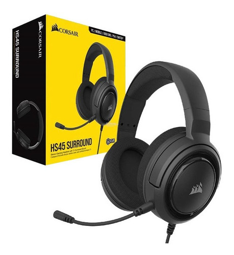 Auriculares Corsair Hs45 Surround 7.1 Pc Xboxone Ps4 Switch