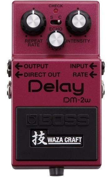 Pedal De Guitarra Boss Delay Dm2w + Nf