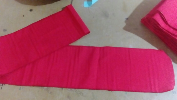 Listones Moños Manteleria Rojos 2.20 De Largo
