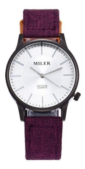 Relógio De Pulso Miler Original A8293-02 Masculino Esportivo