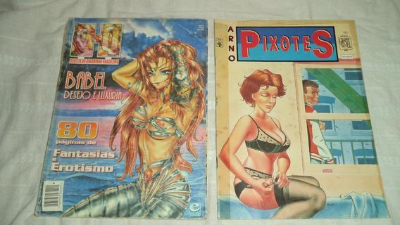 Quadrinhos Arno Pixotes Hq Revista Do Quadrinho Brasileiro