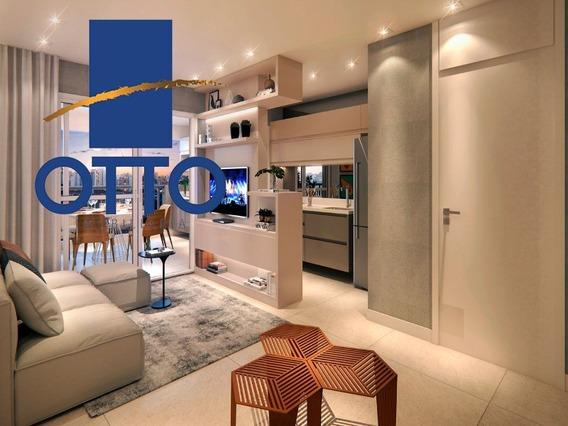 Tatupé - 2 Dormitórios Sendo 1 Suíte 65 M² De Área Útil - Ao Lado Do Metrô - Ap00004 - 34223184