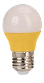 Kit 3 Lampadas Led 3w Colorida Amarela Bivolt Bulbo 3017