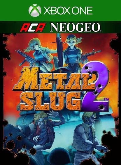 Aca Metal Slug 2 Xbox One Xone (25 Dígitos) Envio Já Compra
