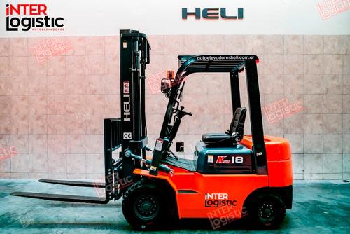 Autoelevador Heli Interlogistic Diesel 1800 Kg Nuevo 0 Km