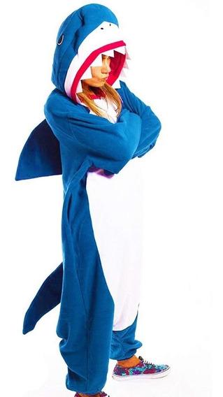 Pijama Tiburón Shark Mameluco Disfraz Kigurumi Envío Gratis!