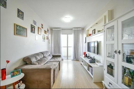Apartamento Em Vila Mariana, São Paulo/sp De 57m² 2 Quartos À Venda Por R$ 550.000,00 - Ap329741