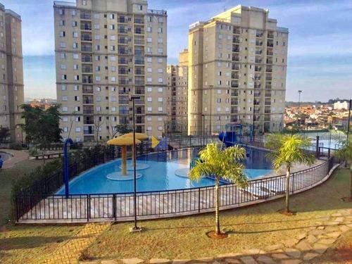 Apartamento Com 3 Dormitórios À Venda, 60 M² Por R$ 0 - Jardim Dos Pimentas - Guarulhos/sp - Ap0075