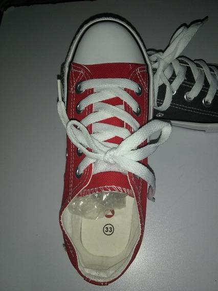 Zapatos Modelo Converse. El Regalo Para El Día Del Niño.