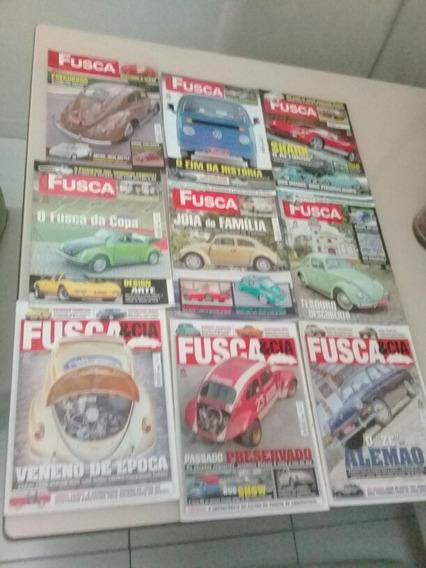 Lote Revistas Fusca E Cia Com 9 Unidades