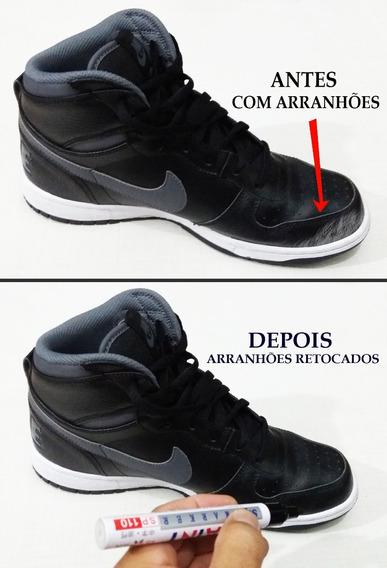 Caneta Preta Para Retoque Em Riscos De Tênis-sapatos-botas