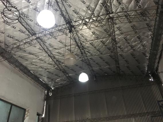 Depósito Techo De Chapa De 150 M2 En Predio Industrial