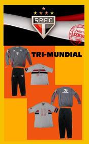 Spfc - Tri-mundial 2005 - Kit Histórico