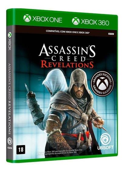 Assassins Creed Revelations - Xbox 360 / Xbox One - Novo