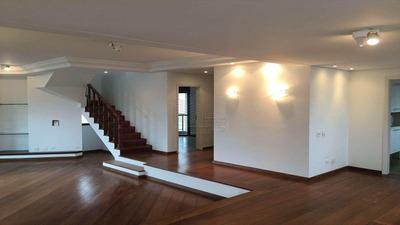 Cobertura Com 4 Dorms, Indianópolis, São Paulo - R$ 3.500.000,00, 391m² - Codigo: 613 - A613