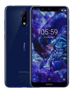 Nokia X6 Dual SIM 64 GB Azul 4 GB RAM