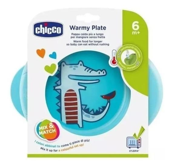 Plato Térmico Bebe Chicco Warmy Plate 6m+ Novedad