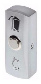 Botão Com Moldura Saída Inox Intelbras Ac6904