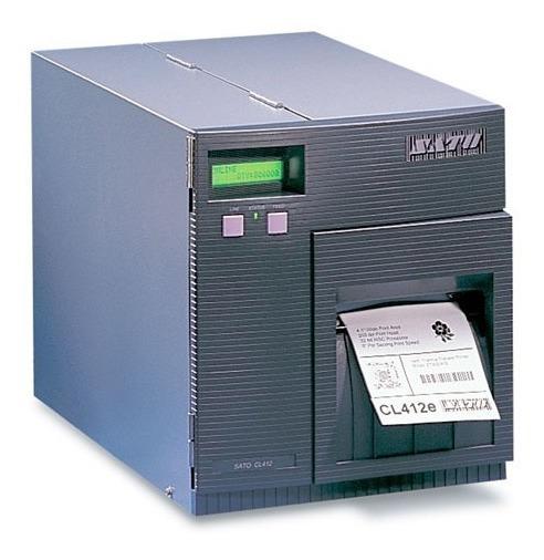 Impressora De Codigo De Barras Sato Cl412e