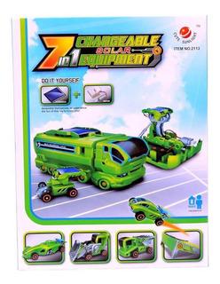 Kit Proyecto Robotica 7 En 1 Carro Solar (desarmado)
